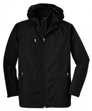Reliant Hooded Jacket (Big Mens Reliant Hooded Jacket by Port Authority (Big & Tall and Regular Sizes))
