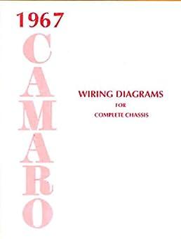1967 camaro complete factory wiring diagrams & schematics 1967 chevy camaro wiring diagram 1967 camaro under dash wiring diagram #13
