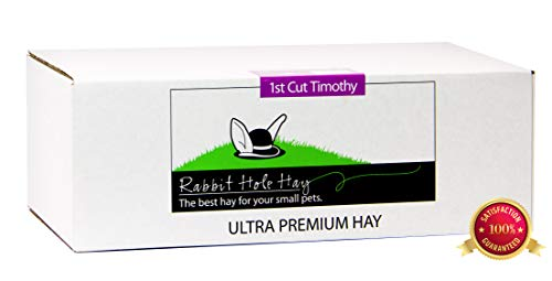 Rabbit Hole Hay Ultra Premium, Hand Packed First Cut Timothy Hay for Your Small Pet Rabbit, Chinchilla, or Guinea Pig (10 Lbs.) by Rabbit Hole Hay (Image #2)