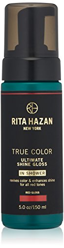 (Rita Hazan Ultimate True Color Shine Gloss with New Package Design, Red, 5 oz.)