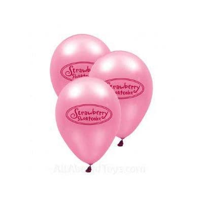 Strawberry Shortcake Latex Balloon 6 Count: Health & Personal Care
