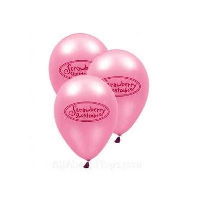 Strawberry Shortcake Latex Balloon 6 Count: Health & Personal Care