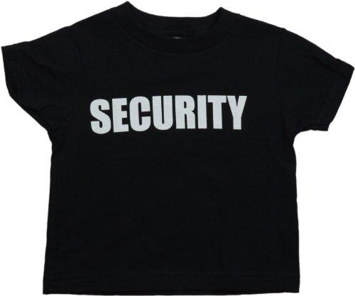 "Ann Arbor T-shirt Co. Big Boys' ""SECURITY"" Funny Youth & Toddler Shirt"