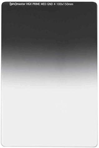 ProMaster HGX プライム 100x150mm ミディアムグラデュエーション ニュートラルデンシティフィルター GND4X (0.6)