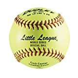 Dudley 4L-611Y Little League SB Fast Pitch Leather Soft Ball, 11-Inch Pack of 12