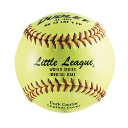 Dudley 4L-611Y Little League SB Fast Pitch Leather Soft Ball, 11-Inch Pack of 12 by Dudley