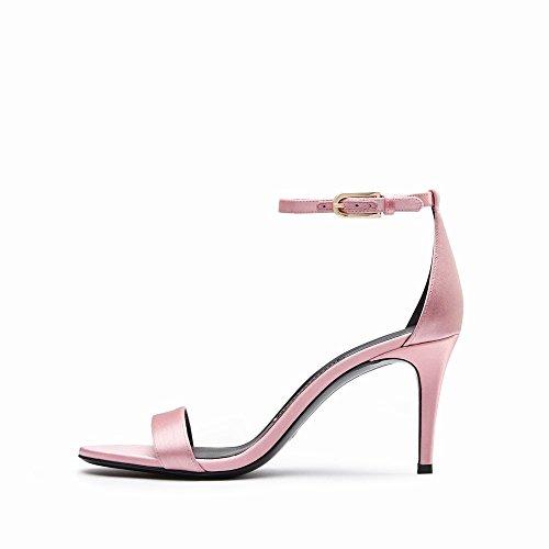 des Chaussures à Chaussures Femmes CWJ Sandales Talons Boucle D'Été avec Talons Hauts B à RHPdnn5q0