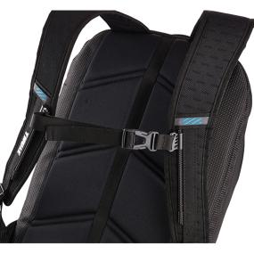 Ventilated back panel of the Thule Crossover TCBP-417 32L 17 Inch MacBook + iPad Backpack