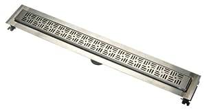 "Zurn ZS880-60-BW 60"" Stainless Steel Linear Shower Drain"