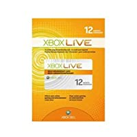Xbox 360 Official Live 12 Month Membership