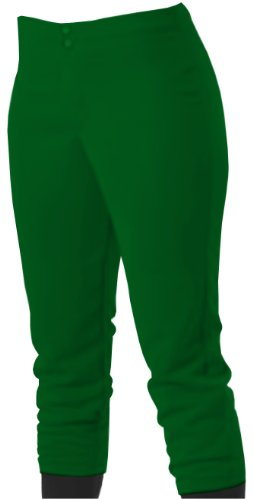 Alleson Women's Softball Pant Dark Green XL