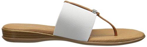 White Andre Assous Flat Sandal Nice Women zCqwOCnxFT