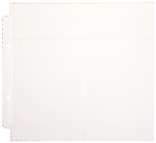 Doodlebug Design Vertical Photo/Recipe Card Protectors for Scrapbooking, 8 by 8-Inch]()