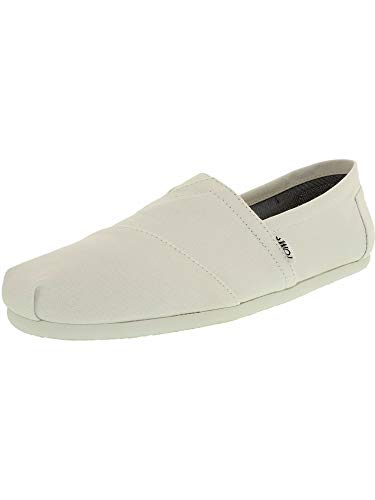 Canvas M Optic White Ankle-High Flat Shoe - 10.5M ()