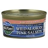 Wild Planet Wild Pink Salmon 6 oz 170 g