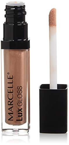Marcelle Lux Gloss Crème, Spicy Nude, Hypoallergenic and Fragrance-Free, 0.19 fl oz