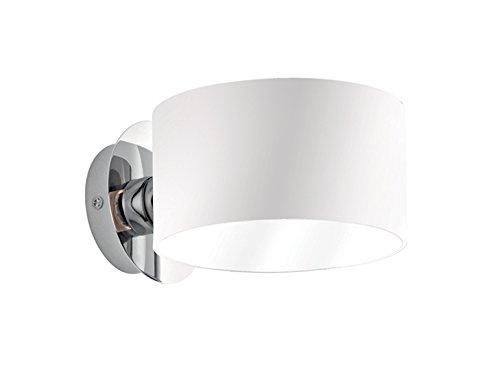 Ideal lux anello ap applique lampada da parete luce bianco