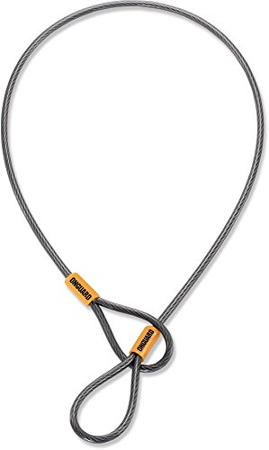 OnGuard Akita Anti Theft Security Braided Steel Cable 7 ft 5mm Seat Leash
