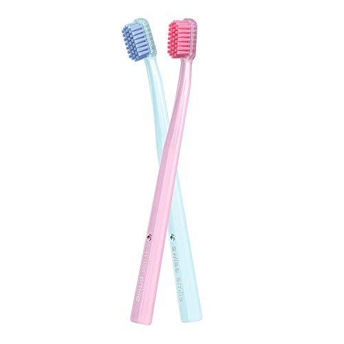 Geschenkset Diamond Glow Toothbrushes Rose Quartz & Serenity Ice Blue 1 Stk.