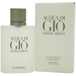 Acqua di Gio Pour Homme Eau de Toilette Spray 1.0 ounce (Homme 1 Ounce Spray)