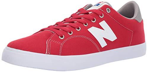 - New Balance Men's 210v1 Skate Shoe Sneaker, red/White, 10 D US