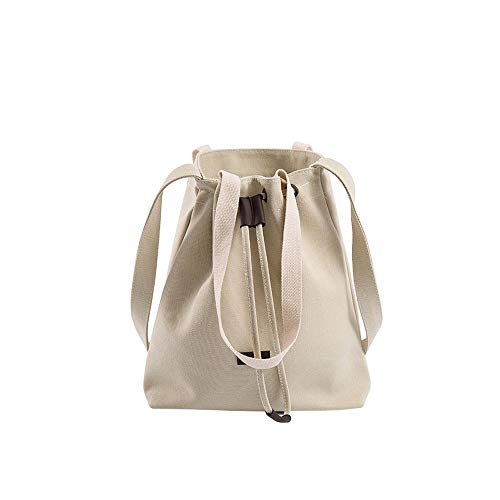 White White Large Shoulder Purse Handbag Hobo Canvas Womens Bag Bags Messenger JESPER Travel Tote B4ZR7