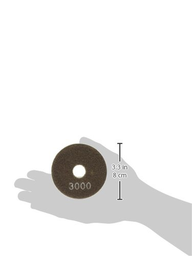 3 3 Builders World Wholesale Distribution MK Diamond 157114 3000 Grit Premium Resin Wet Polishing Disc