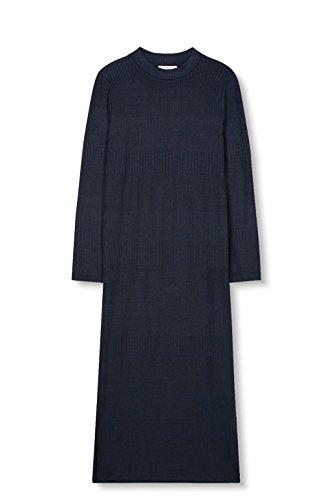 Navy by Blau ESPRIT Kleid 400 edc Damen ZazUpxUq