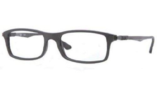 Ray-Ban Glasses 7017 5196 Black 7017 Rectangle - Glasses Rx