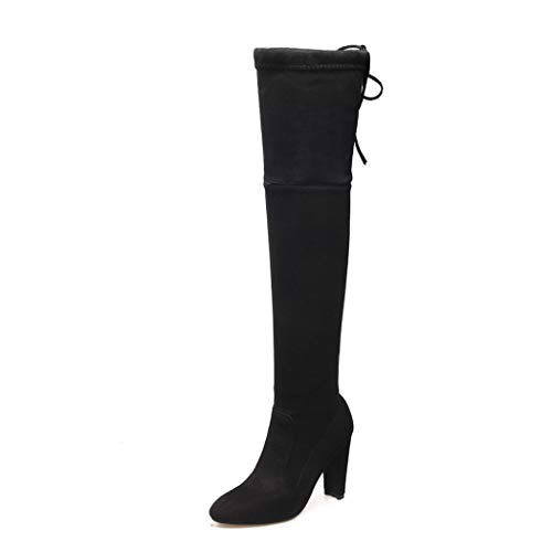 Negro Color 43 para SA061 Mujer EU Talla wetkiss Botas 76xq0XwHI