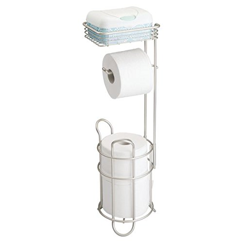 mDesign Dispenser Reserve Storage Bathroom