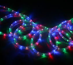 Ex pro 15m neon multi coloured colour rope light amazon ex pro 15m neon multi coloured colour rope light chrismas party wedding aloadofball Images