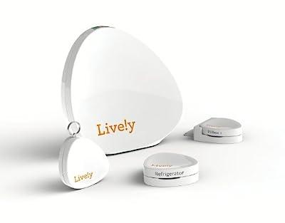 Lively Activity Sensors Only,Original Version, White