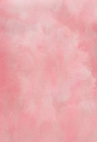 CdHBH 6x8ft Solid Color Blur Pink Portrait Costume Photo Photography Background Cloth Festival Venue Party Decoration Wallpaper Home Decoration Vinyl Material Photo Studio Photo Background