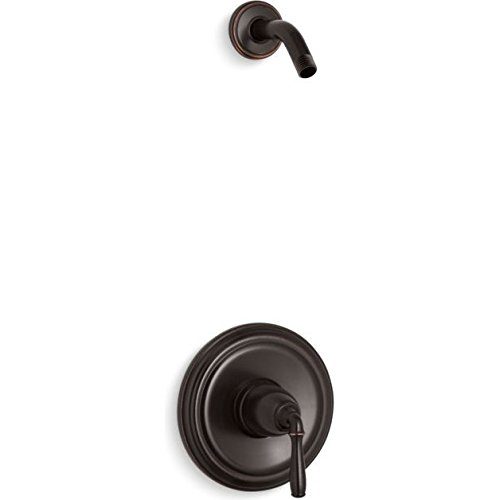 KOHLER TLS396-4-2BZ Devonshire(R) Rite-Temp(R) Shower Valve Trim with Lever Handle, Less showerhead ()