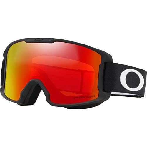 Oakley Line Miner Youth Snow Goggle, Matte Black, Small, Prizm Torch Iridium Lens (Youth Ski Goggles Oakley)