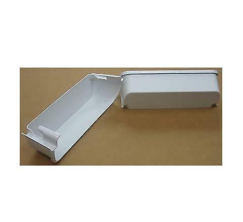 RepSupplements 240323001-2 Pack Refirgerator Door Bin Shelf White 2 PACK SALE
