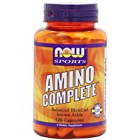 - NOW Sports Amino Complete, 120 Capsules Thank you to all the patrons We hope that he has gained the trust from you again the next time the service