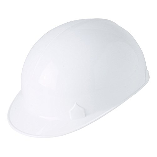 Jackson Safety C10 Bump Cap (14811), Safety Hard Hat for Minor Bumps, Absorbent Brow Pad, 4-Pt. Suspension, White, 12 / Case