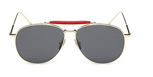 GAMT Classic Polarized Aviatior Unisex Sunglasses Desinger UV400 Protection Metal Frame - Prescription Motorcycle Uk Glasses