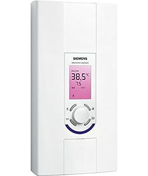 Siemens DE1518628 Vertical Sin depósito (instantánea) Sistema de calentador único Blanco calentadory - Hervidor