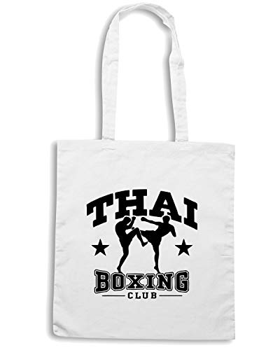 Shirt THAI Borsa BOXING TBOXE0041 Bianca Shopper Speed dXACnBqw4d