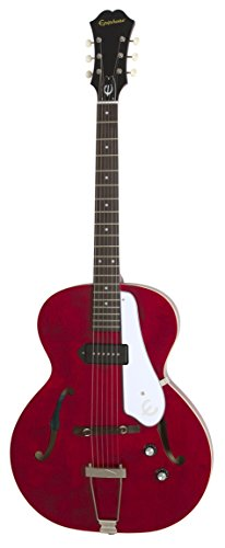 Epiphone ETCNCHNH1 Hollow-Body Electric Guitar, Cherry (Dot Semi Epiphone)