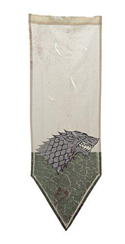 Calhoun Game of Thrones Distressed Battle Tournament Banner (House Stark) -