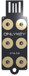 OnlyKey Stealth Black Case Communication product image