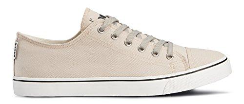 Diadora Shoes Running Sneaker Jogging Men Clipper C Ecru Size Grigio