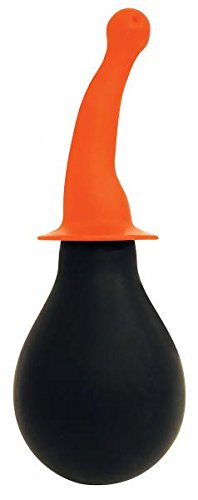 Rooster Tail Cleaner Smooth Orange Anal Douche-(Package of 2)