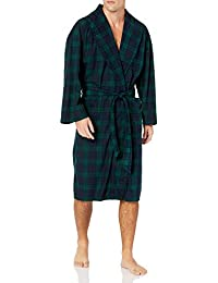 Men's Marled Plush Knit Robe