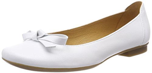 Weiss Casual Bianco Ballerine Donna Gabor xId70qI