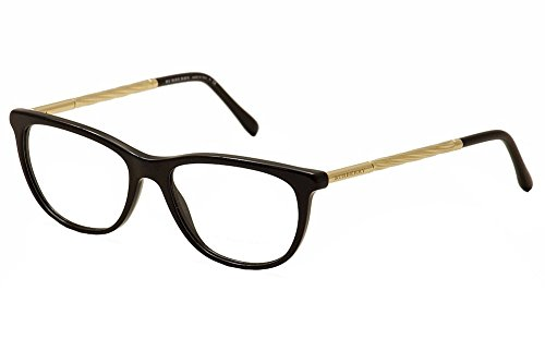 Burberry Women's BE2189 Eyeglasses Black - Burberry Eyeglasses Womens